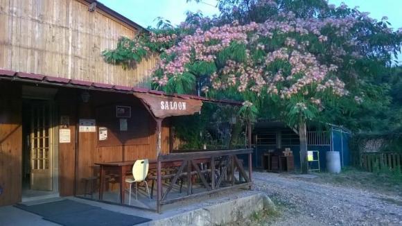club house et sa terrasse